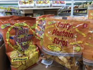 Osems Tasty Sweet Plantain Chips or Strips