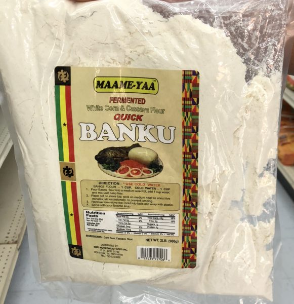 Banku Flour (White Corn and Cassava Flour)