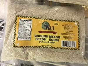 Ground Egusi (Melon Seed)