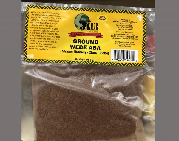 Ground Wede Aba Spices